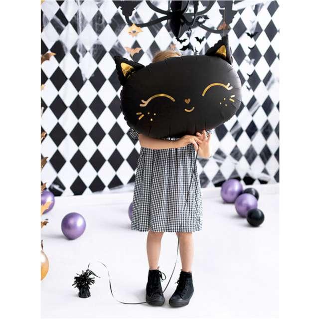Balon foliowy Kotek czarny PartyDeco 19 SHP