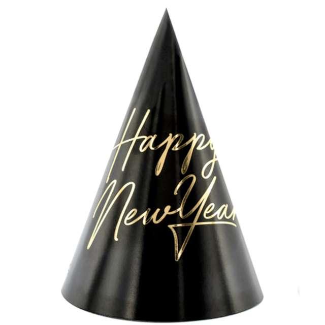 _xx_Czapeczki Happy New Year 16cm (1 op. / 6 szt.)