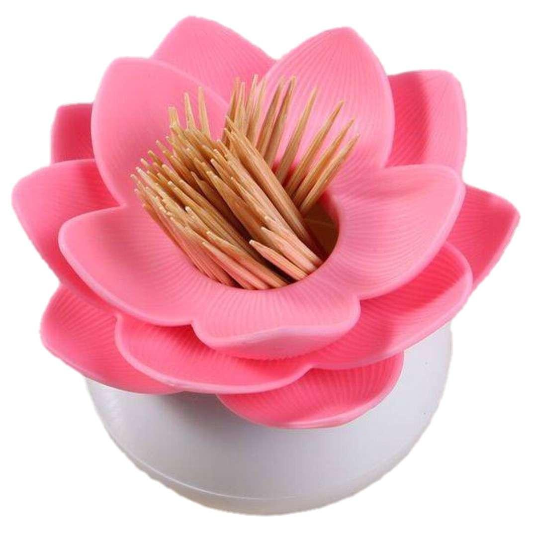 """Pojemnik na pałeczki """"Kwiat Lotosu"""", różowy, GadgetMaster"""