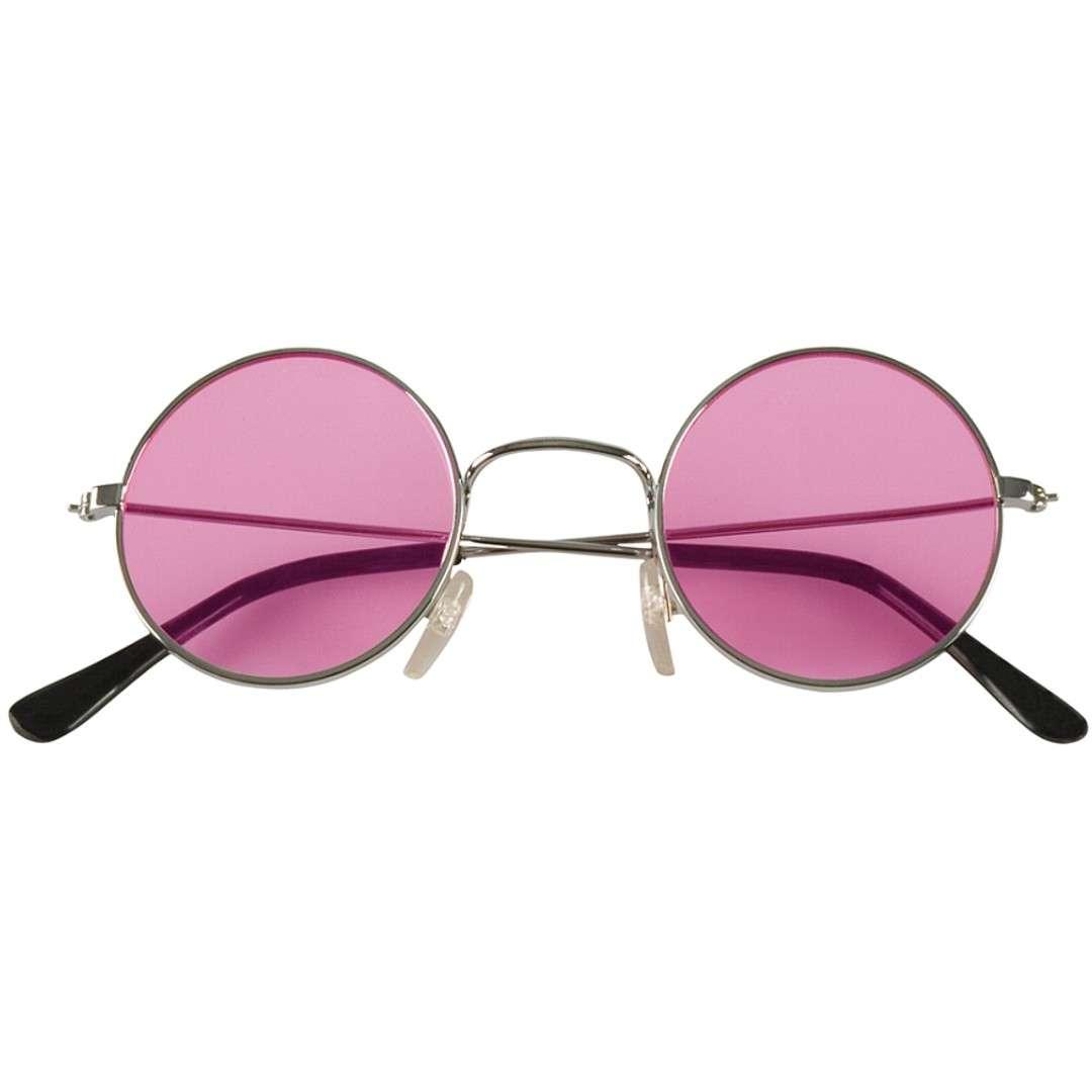 "Okulary party ""John"", różowe, Boland"