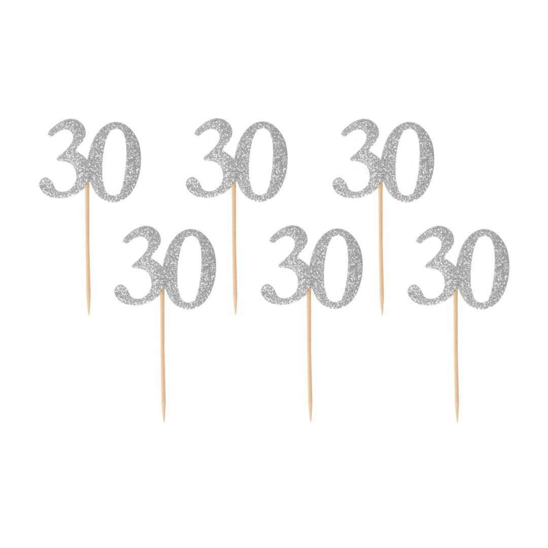 """Pikery """"30 Urodziny Classic"""", srebrne , Godan"""