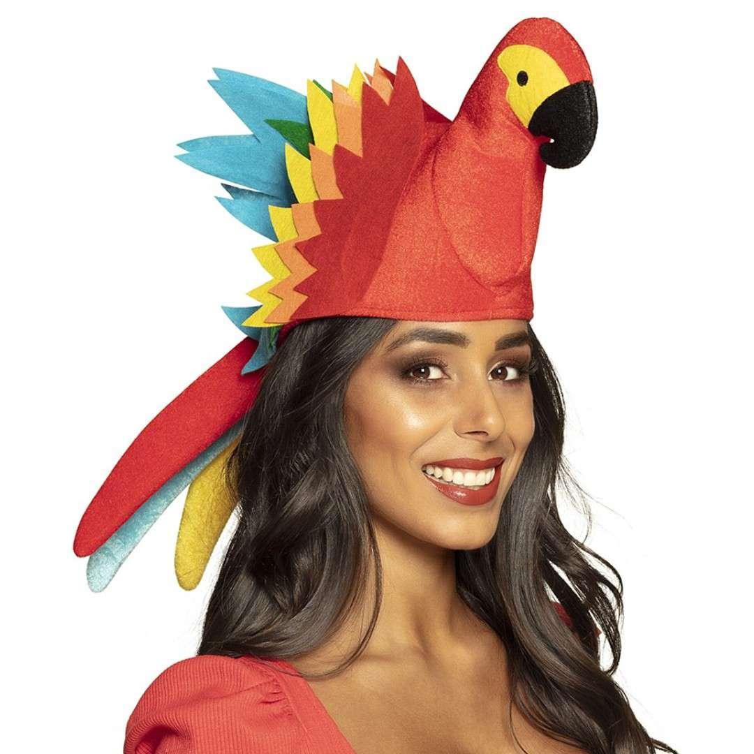 Czapka Papuga na głowę Boland