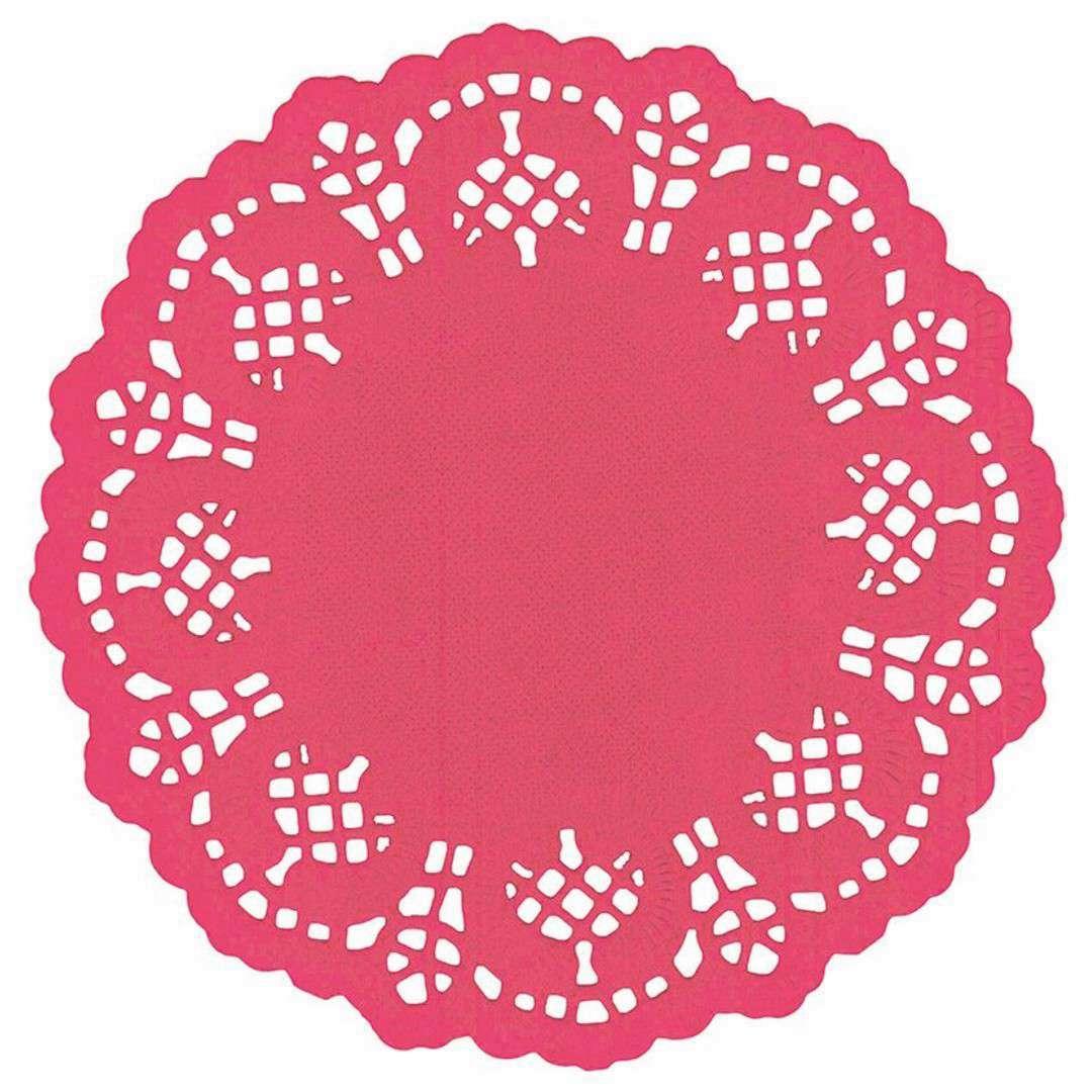 """Serwetki dekoracyjne """"Classic"""", czerwone, Titanum, 11,5 cm, 35 szt"""