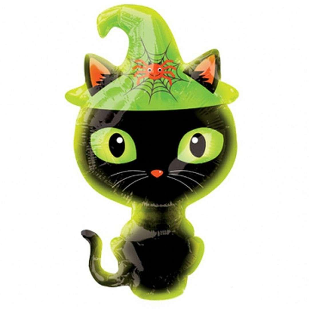 Balon foliowy Czarny kotek Amscan 14 SHP