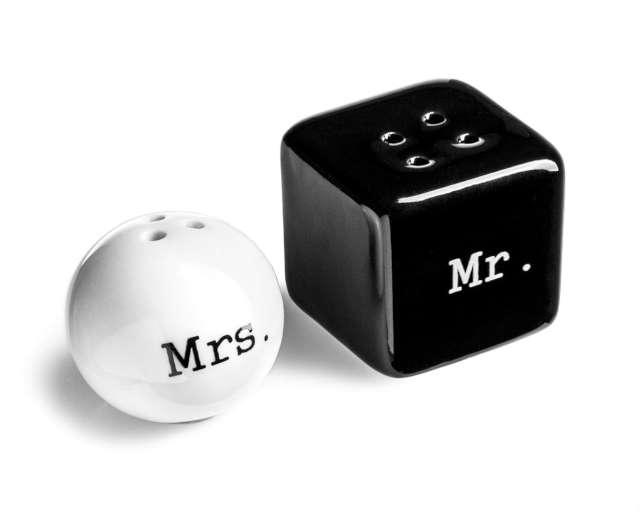 Solniczka i pieprzniczka MR & MRS, GadgetMaster