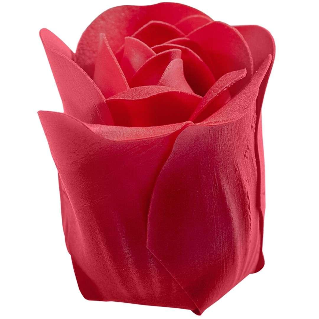 Mydlane róże w koszyczku