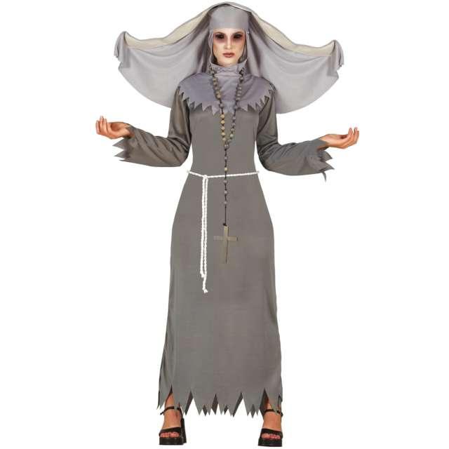 """Strój dla dorosłych """"Diaboliczna zakonnica"""", szary, Guirca, rozm. L"""