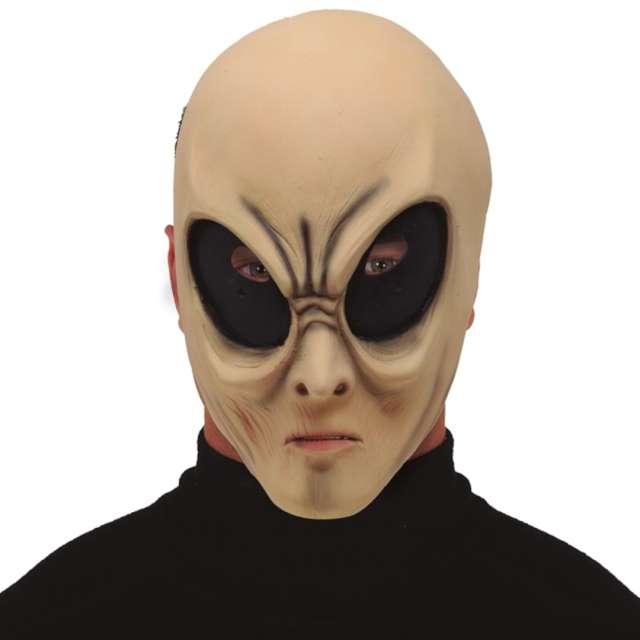 "Maska ""Kosmita - Ufoludek"", lateksowa, Guirca"