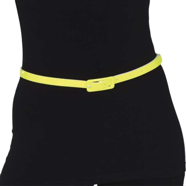 """Pasek party """"Neon"""", żółty, Guirca, 110 cm"""