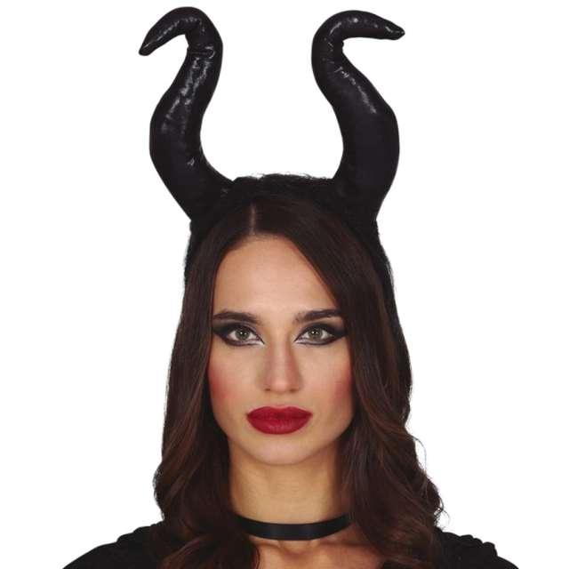 Opaska party Duże Rogi Diablicy czarna Guirca
