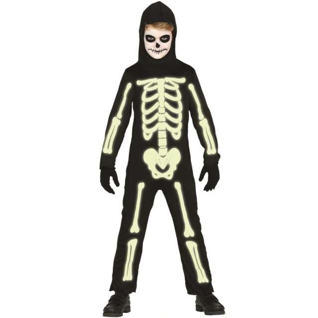 """Strój dla dzieci """"Świecący szkielet"""", Guirca, rozm. 5-6 lat"""
