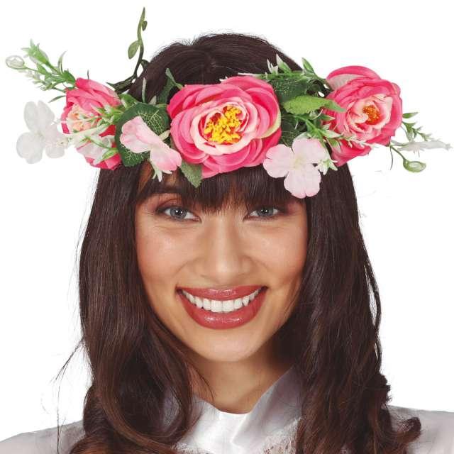 Opaska party Kwiaty we włosach Guirca