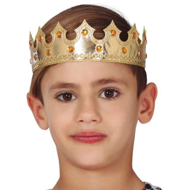 Korona party Mały Król złota Guirca