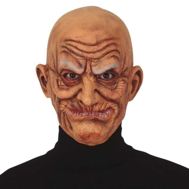 """Maska """"Stary człowiek"""", lateksowa, Guirca"""