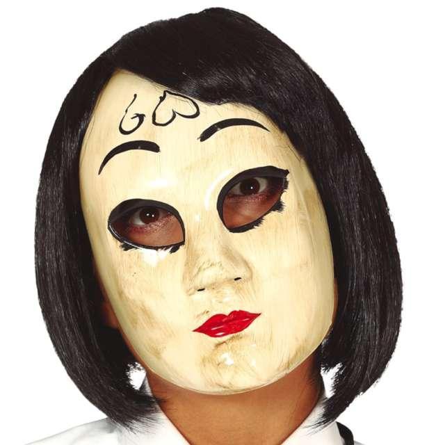 "Maska ""Kobieta z sercem"", plastikowa, Guirca"