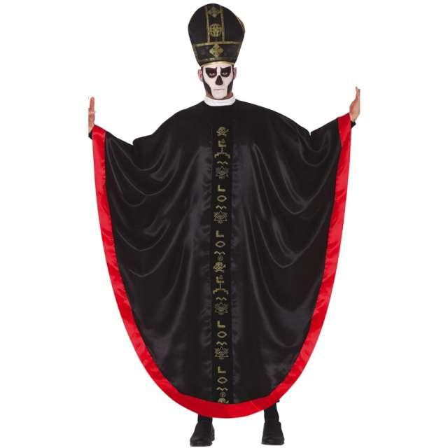 """Strój dla dorosłych """"Ksiądz Kultysta"""", czarny, Guirca, rozm. L"""
