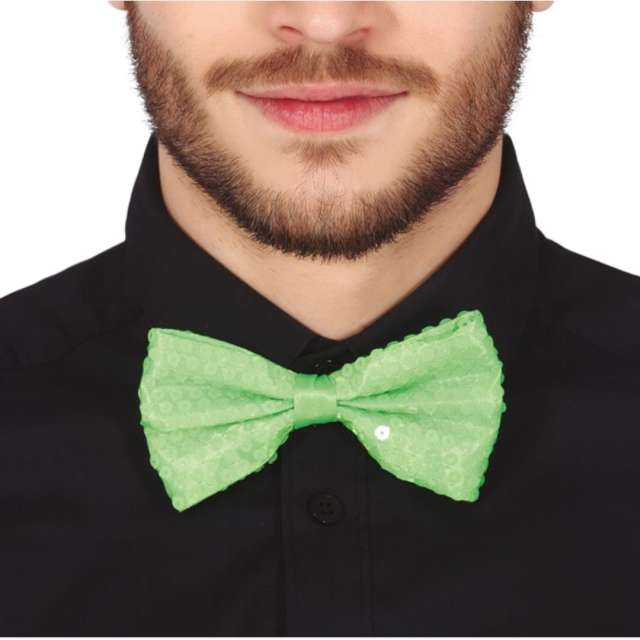 """Mucha """"Cekinowa"""", zielona, Guirca"""