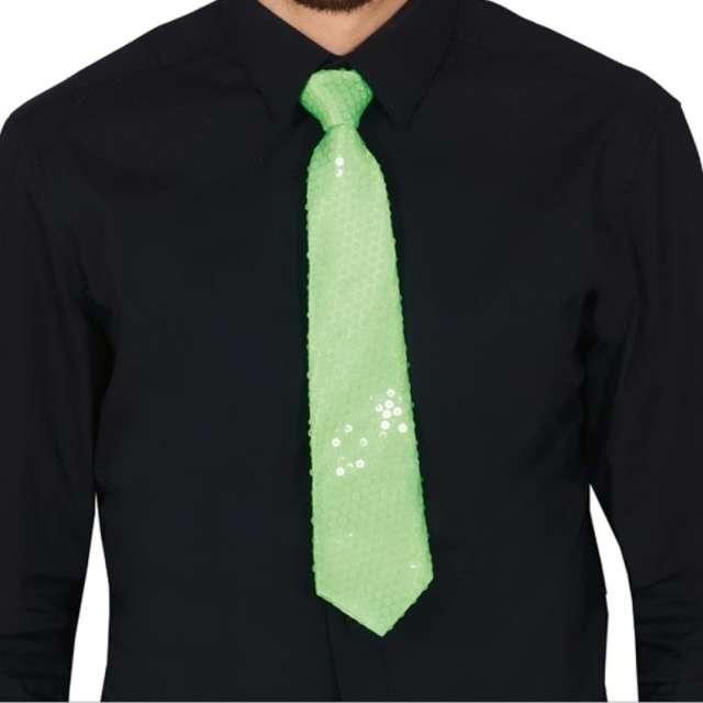 """Krawat """"Cekinowy"""", zielony, Guirca"""