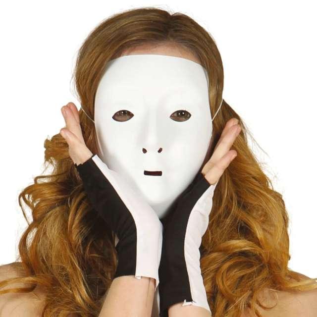 """Maska """"Do pomalowania, kobieta"""", biała , Guirca"""