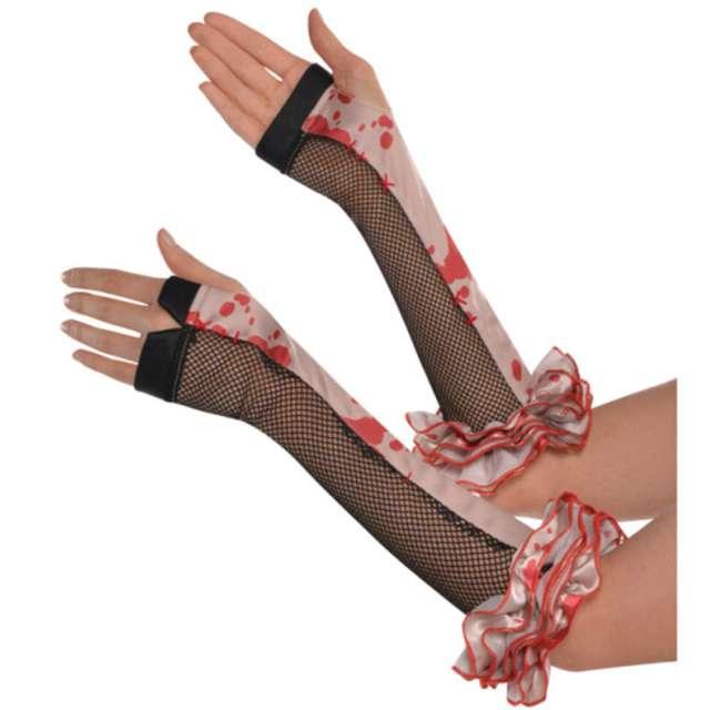 """Rękawiczki """"Krwawe, bez palców"""", Amscan"""