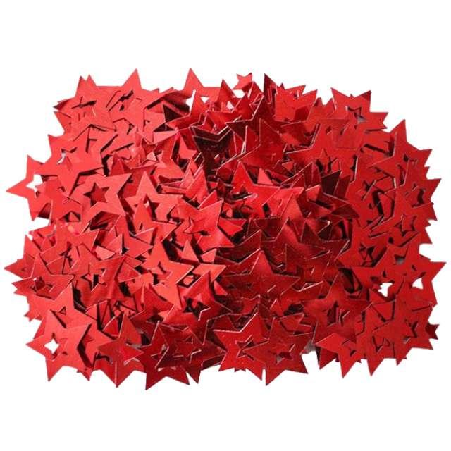 """Konfetti """"Gwiazdki pełne"""", czerwone, Titanum, 14 g"""