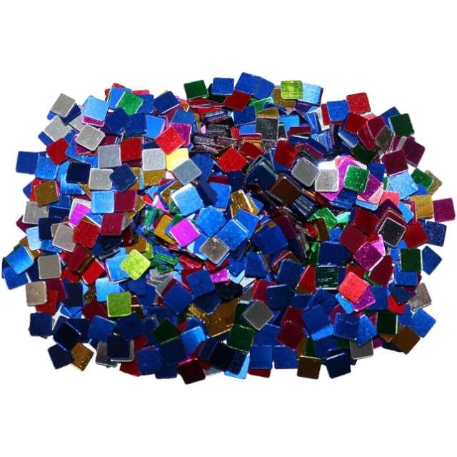 """Konfetti """"Kwadraty 5 x 5 mm"""", mix, Titanum, 14 g"""