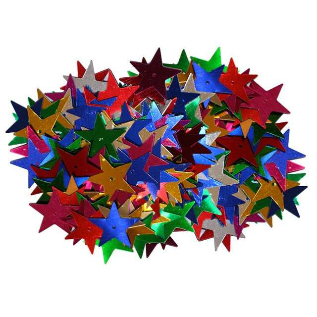 """Konfetti """"Gwiazdki z dziurką"""", mix, Titanum, 14 g"""