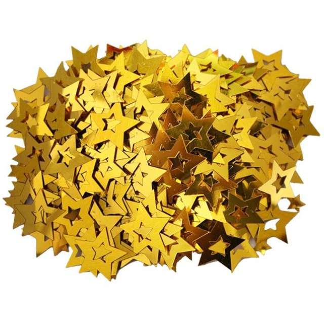 """Konfetti """"Gwiazdki - grube"""", złote, Titanum, 14 g"""