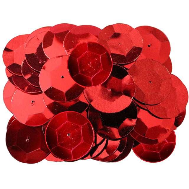 """Konfetti """"Kółeczka"""", czerwone, Titanum, 14 g"""