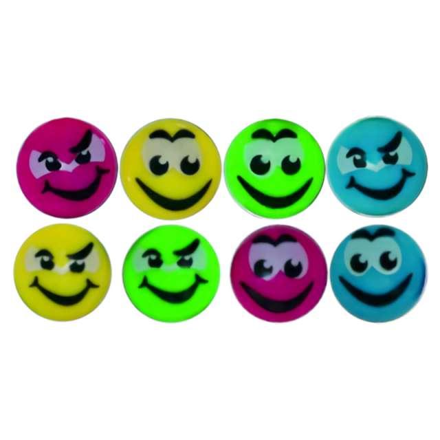 "Magnesy ""Emoji - Uśmiech"", mix, Titanum, 20 mm. 8 szt"