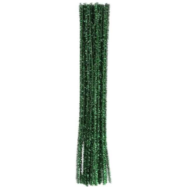"""Druciki kreatywne """"Wyciory"""", zielony, Titanum, 30 cm, 30 szt"""