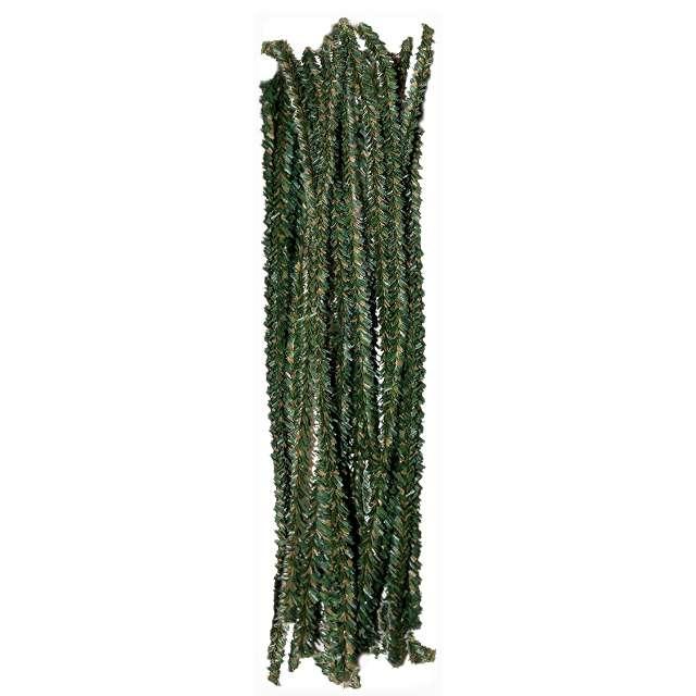 """Druciki kreatywne """"Wycior - Choinka"""", zielony, Titanum, 30 cm, 30 szt"""
