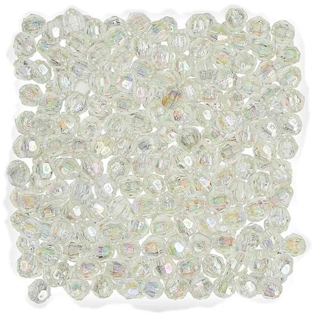"""Koraliki """"Perełki"""", perłowe białe, Titanum, 6 mm, 30 g"""