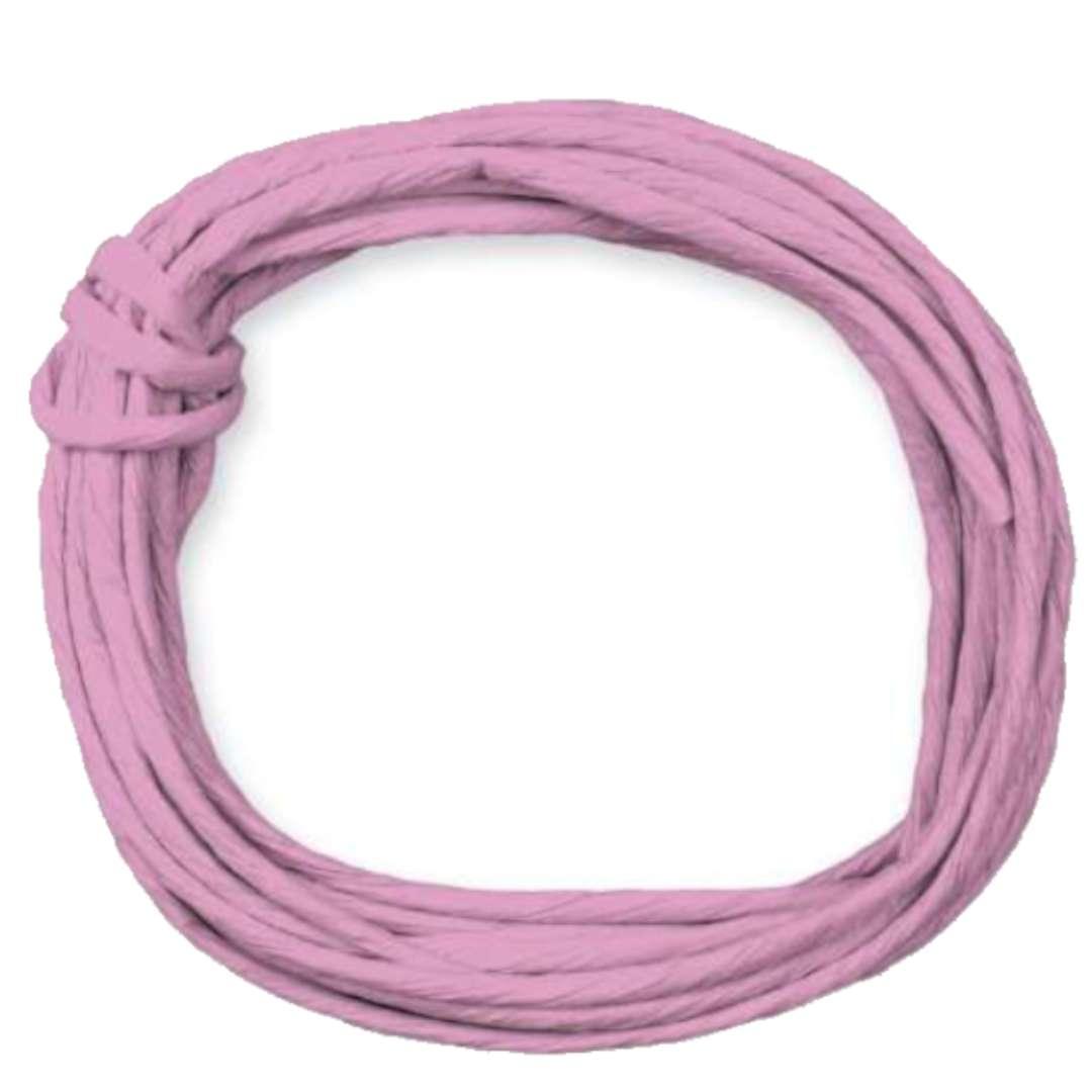 """Sznurek """"Papierowy"""", różowy blady, Titanum, 5 m"""