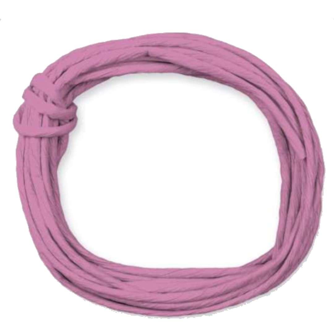 """Sznurek """"Papierowy"""", różowy, Titanum, 5 m"""