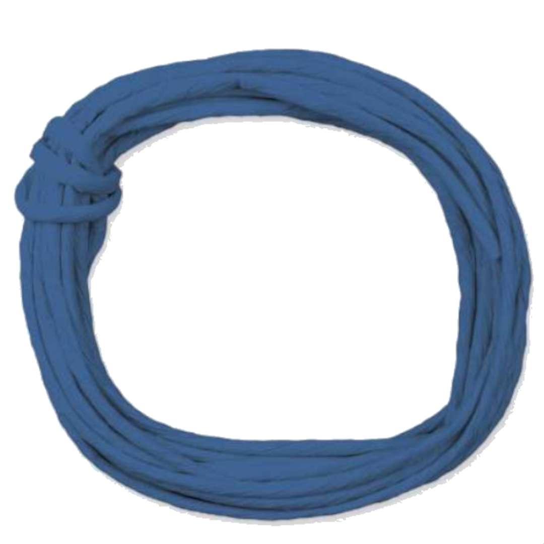 "Sznurek ""Papierowy"", niebieski ciemny, Titanum, 5 m"