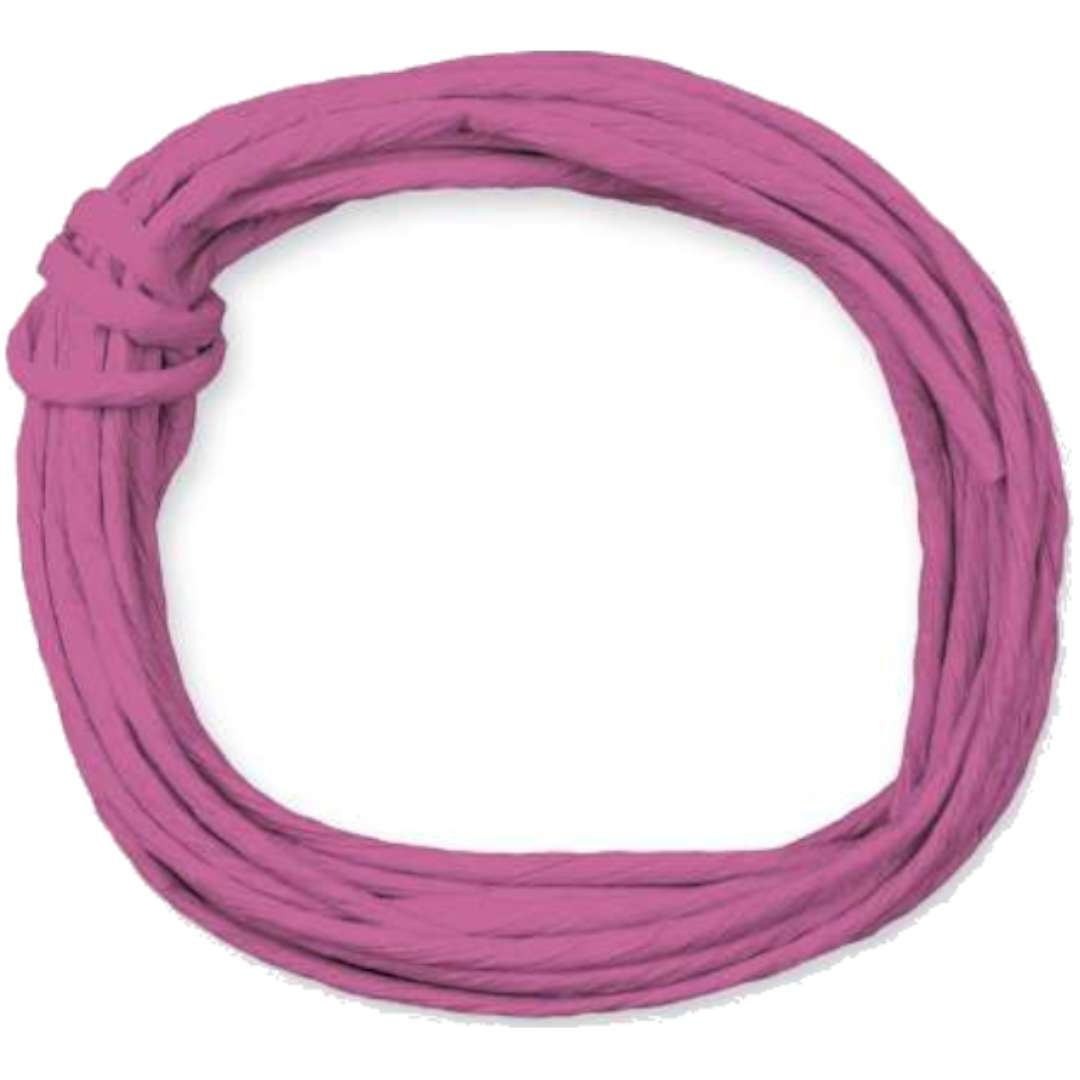 """Sznurek """"Papierowy"""", różowy ciemny, Titanum, 5 m"""