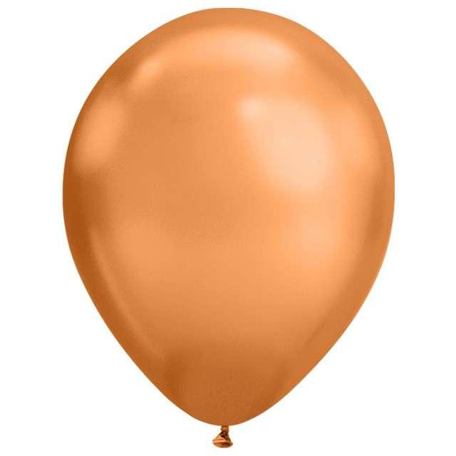 """Balony """"chrom"""" miedziany złoty, Qualatex, 7"""", 100 szt."""