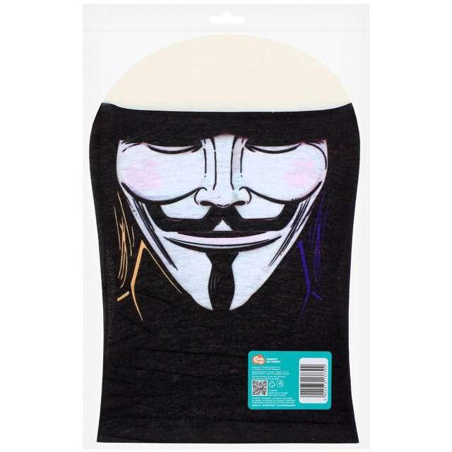Maska-Komin ANONYMOUS biała Godan