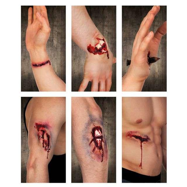 _xx_Sztuczne rany 6 wzorów