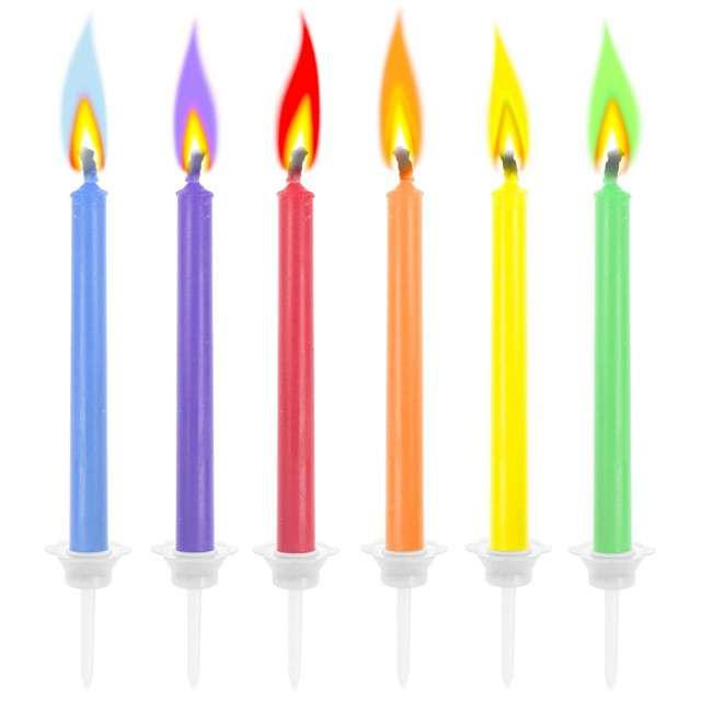 _xx_Świeczki Kolorowe płomienie 6 szt.