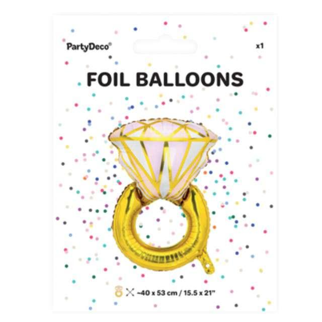 _xx_Balon foliowy Pierścionek 53x40cm mix