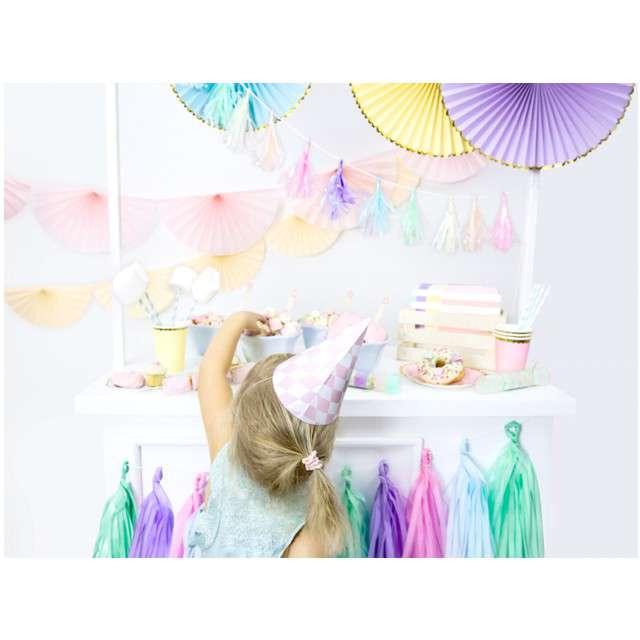 Girlanda Frędzle pastelowe  mix PartyDeco 150 cm