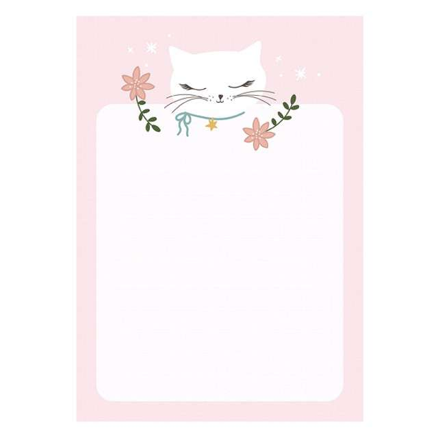 _xx_Notes Kotek z wyrywanymi kartkami 40 kartek (1 op. / 6 szt.)
