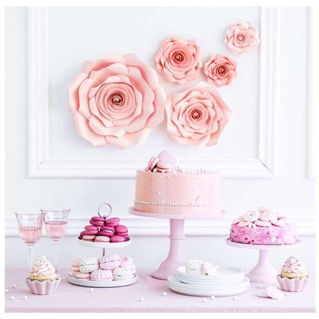 _xx_Papierowe kwiaty różowy mix