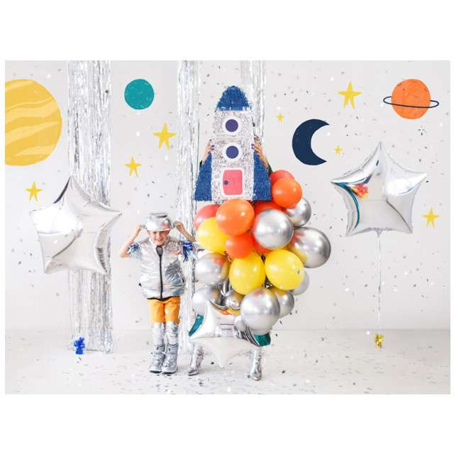 Piniata Rakieta Kosmos PartyDeco 445x69 cm