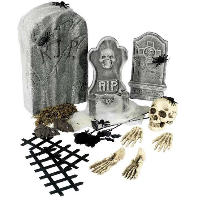 "Dekoracja ""Cmentarzysko Halloween"", Smiffys"