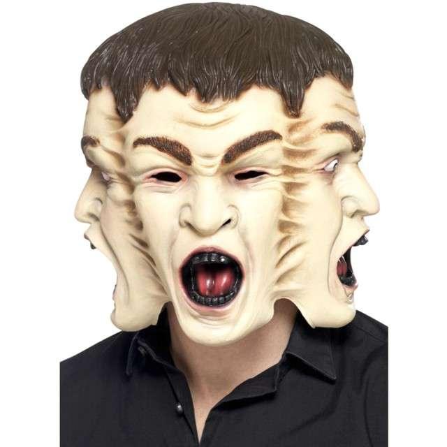 """Maska """"Trzy Twarze"""", lateksowa, Smiffys"""