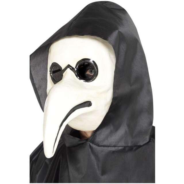 Maska Doktor Plagi biała Smiffys