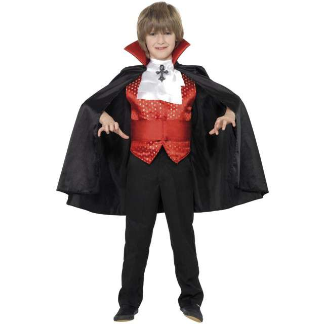 """Strój dla dzieci """"Wampir Drakula"""", Smiffys, 115/128"""